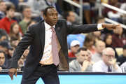 Head coach Avery Johnson of the Alabama Crimson Tide shouts against the Virginia Tech Hokies during the first half of the game in the first round of the 2018 NCAA Men's Basketball Tournament at PPG PAINTS Arena on March 15, 2018 in Pittsburgh, Pennsylvania.