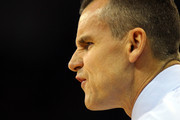 Head coach Billy Donovan of the Florida Gators reacts as he coaches against the Norfolk State Spartans during the third round of the 2012 NCAA Men's Basketball Tournament at CenturyLink Center on March 18, 2012 in Omaha, Nebraska.