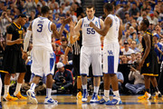 Josh Harrellson and Terrence Jones Photos Photo