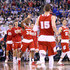 Bronson Koenig Vitto Brown Photos - Vitto Brown #30 of the Wisconsin Badgers reacts with teammates late in the first half against the Kentucky Wildcats during the NCAA Men's Final Four Semifinal at Lucas Oil Stadium on April 4, 2015 in Indianapolis, Indiana. - NCAA Men's Final Four - Semifinals