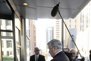 NFL owner Jerry Richardson of the Carolina Panthers arrives for court ordered mediation at the U.S. Courthouse on May 17, 2011 in Minneapolis, Minnesota. As the NFL lockout remains in place mediation was ordered after a hearing on an antitrust lawsuit filed by NFL players against the NFL owners after labor talks between the two broke down in March.