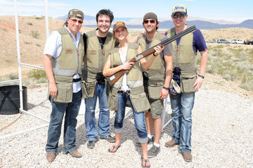 Chris Tuttle NRA Country/ACM Celebrity Shoot Hosted By Blake Shelton