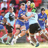 Jack Dempsey Photos - Jack Dempsey of the Rays is tackled during the round four NRC match between the Sydney Rays and the Fijian Drua at Concord Oval on September 23, 2018 in Sydney, Australia. - NRC Rd 4 - Sydney v Fiji Drua