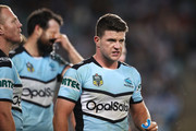 Chad Townsend of the Sharks looks dejected during the NRL Qualifying Final match between the Sydney Roosters and the Cronulla Sharks at Allianz Stadium on September 8, 2018 in Sydney, Australia.