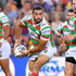 Greg Inglis Photos - Greg Inglis of the Rabbitohs looks to pass during the round eight NRL match between the Brisbane Broncos and the South Sydney Rabbitohs at Suncorp Stadium on April 22, 2016 in Brisbane, Australia. - NRL Rd 8 - Broncos v Rabbitohs