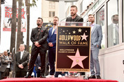 Justin Timberlake speaks onstage during the ceremony honoring NSYNC with a star on the Hollywood Walk of Fame on April 30, 2018 in Hollywood, California.