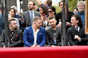 Chris Kirkpatrick, Joey Fatone, Justin Timberlake and JC Chasez of NSYNC are honored with a star on the Hollywood Walk of Fame on April 30, 2018 in Hollywood, California.