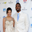 """Lauran Tuck NY Giants Justin Tuck 3rd Annual """"Rush For Literacy"""" Celebrity Billiards Tournament"""