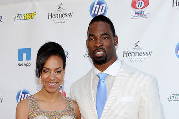 "Lauran Tuck NY Giants Justin Tuck 3rd Annual ""Rush For Literacy"" Celebrity Billiards Tournament"