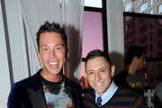 Designer David Bromstad (L) and Jonathan Adler attend NYC Bing redesign panel featuring Jonathan Adler and David Bromstad on September 17, 2013 in New York City.