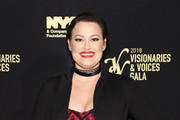 Actor Ashley Brown attends the NYC & Company Foundation Visionaries & Voices Gala 2018 at The Plaza on November 28, 2018 in New York City.