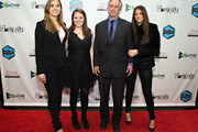 Mariah Kennedy Cuomo, Kellie Kennedy, Robert F. Kennedy Jr. and Kyra Kennedy attend the New York City screening of 'Trace Amounts' at New York University School of Law Tishman Auditorium on March 24, 2015 in New York City.