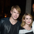Emma Roberts and Chord Overstreet