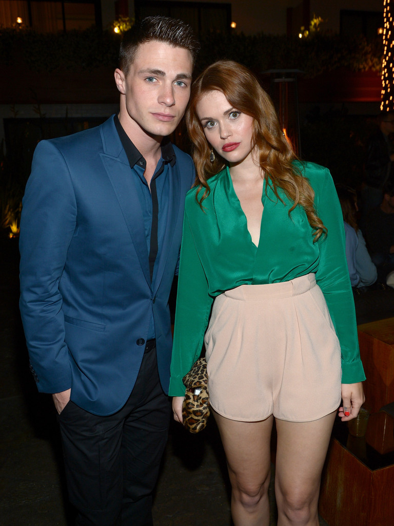 colton haynes and holland roden photos photos nylon