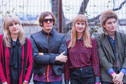 Tennessee Thomas, Niholai Fraiture, Erika Spring and Lewis Lazar as part of the Summer Moon Band attend the NYLON presents SXStyle Official Closing Party during the 2015 SXSW Interactive Festival at Palm Door   on March 17, 2015 in Austin, Texas.