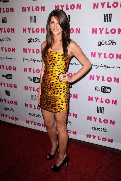 Actress Ashley Green arrives at the NYLON & YouTube Young Hollywood Party at the Roosevelt Hotel on May 12, 2010 in Hollywood, California.