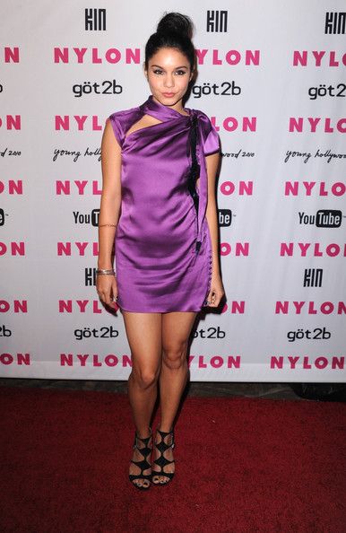 Vanessa Hudgens Actress Vanessa Hudgens arrives at the NYLON & YouTube Young Hollywood Party at the Roosevelt Hotel on May 12, 2010 in Hollywood, California.