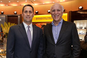 Tourneau CEO Ira Melnitsky and Publisher of NYMag Larry Burstein attend NYMag Toasts Tourneau at Tourneau Boutique on June 17, 2015 in New York City.