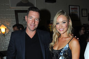 """Ed Burns and Katrina Bowden attend The NYMag, Vulture + TNT Celebrate the Premiere of """"Public Morals"""" on August 12, 2015 in New York City."""