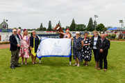 Co-owners of Miss Federer celebrate after winning Race 5 Barneswood Farm Welcome Stakes during New Zealand Cup and 1000 Guineas Day at Riccarton Park Racecourse on November 17, 2018 in Christchurch, New Zealand.