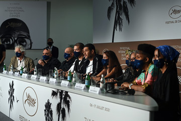 """Nabil Ayouch Ismail Adouab """"Haut Et Fort (Casablanca Beats)"""" Press Conference - The 74th Annual Cannes Film Festival"""