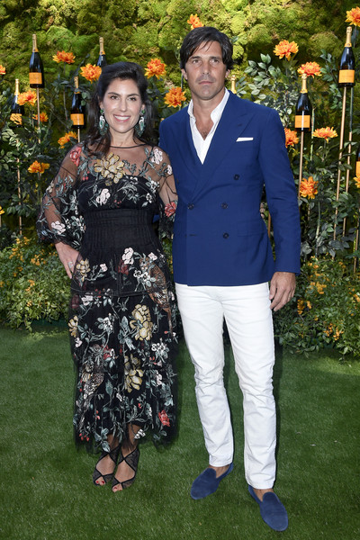 10th Annual Veuve Clicquot Polo Classic Los Angeles - Arrivals [event,fashion,botany,formal wear,ceremony,dress,flooring,premiere,plant,suit,arrivals,nacho figueras,vanessa kay,l-r,los angeles,pacific palisades,california,will rogers state historic park,veuve clicquot polo classic]