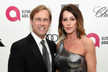 Nadia Comaneci Bart Conner Arrivals at the Elton John AIDS Foundation Oscars Viewing Party — Part 3