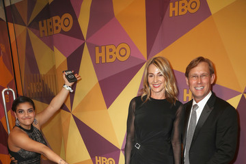 Nadia Comaneci Bart Conner HBO's Official Golden Globe Awards After Party - Arrivals