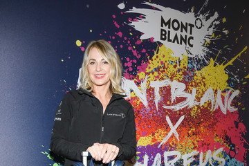 Nadia Comaneci Montblanc Partners For Laureus Awards 2019 - Day One : Photocall