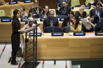 Nadia Murad Amal Clooney Addresses the UN High Level Event on Bringing ISIL to Justice