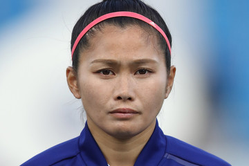 Nahomi Kawasumi South Korea v Japan - AFC Women's Asian Cup Group B