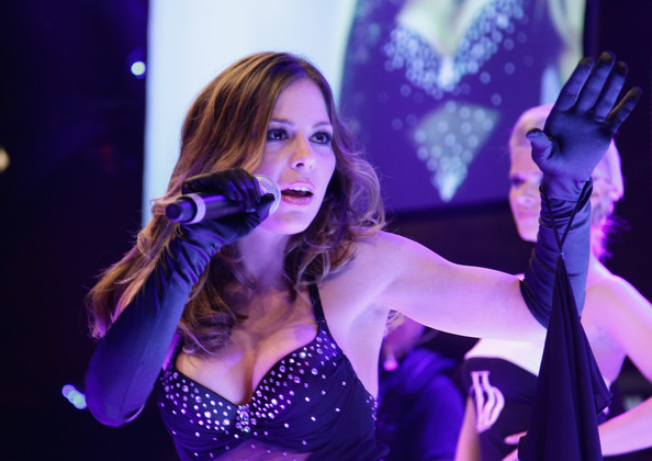 Muti's daughter) performs on stage during the Lambertz Monday Night ...
