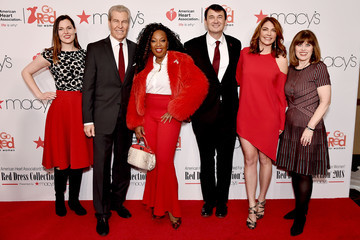 Nancy Brown The American Heart Association's Go Red For Women Red Dress Collection 2018 Presented By Macy's - Arrivals & Front Row