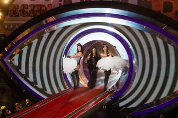 Nancy Dell'Olio Celebrity Big Brother - Contestants Enter the House