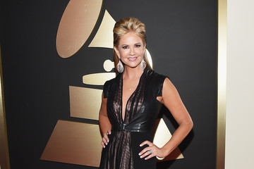 Nancy O'Dell The 57th Annual GRAMMY Awards - Red Carpet