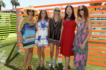 Nanette Lepore POPSUGAR And The Council Of Fashion Designers Of America  (CFDA) Brunch With Designer Mara Hoffman At The Cabana Club