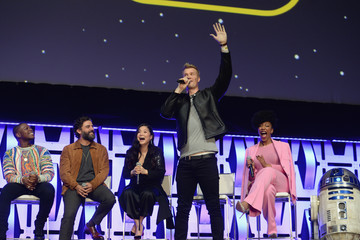 Naomi Ackie Star Wars Celebration: 'The Rise Of Skywalker' Panel