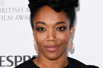 Naomi Ackie Nespresso British Academy Film Awards Nominees Party - Red Carpet Arrivals
