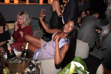 Naomi Campbell The Weinstein Company and Netflix Golden Globes Party Presented With Landmark Vineyards