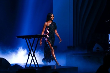 Naomi Campbell Germany's Next Topmodel Finals in Oberhausen