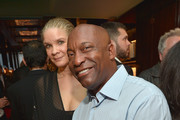 """Director John Singleton attends the Los Angeles launch of """"Naomi"""" at Taschen Beverly Hills on April 28, 2016 in Beverly Hills, California."""