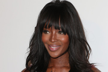 Naomi Campbell Weinstein Company and Netflix Golden Globes Party