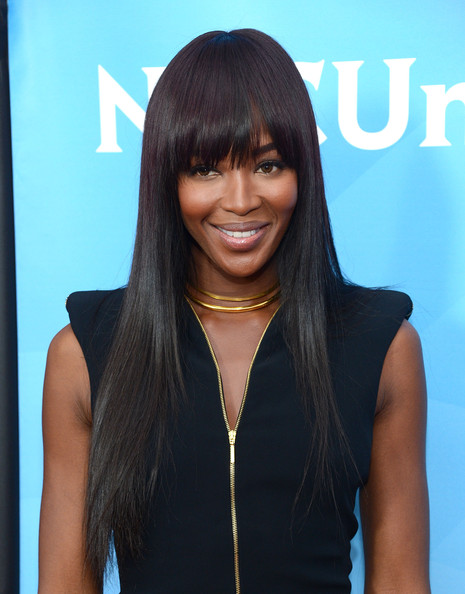 "Naomi Campbell - NBCUniversal's ""2013 Winter TCA Tour"" Day 2 - Arrivals"