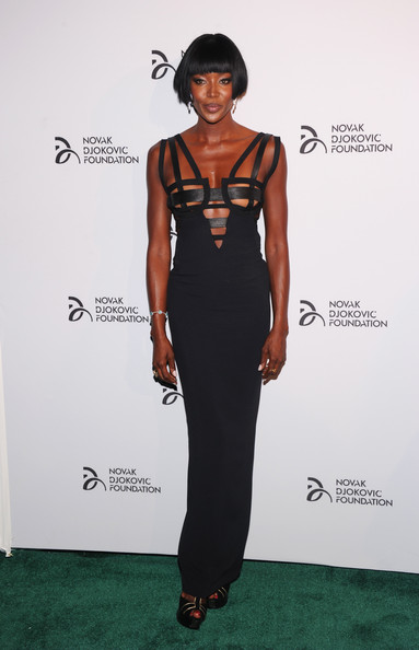 Naomi Campbell - The Novak Djokovic Foundation New York Dinner - Arrivals