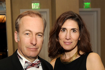 Bob Odenkirk with beautiful, friendly, intelligent, Wife Naomi Odenkirk