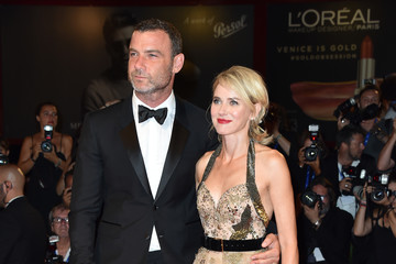 Naomi Watts Liev Schreiber Persol Tribute to Visionary Talent Award to Liev Schreiber and 'The Bleeder' Premiere - 73rd Venice Film Festival