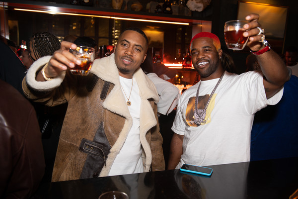 Hennessy All-Star Weekend Gentlemen's Lounge Hosted By Nas & A$AP Ferg