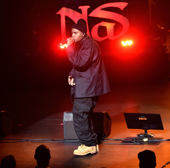 Nas Opening Night Concert Rapper Nas 2014