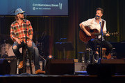 Brian Kelley and Tyler Hubbard of Florida Georgia Line perform during the Nashville Songwriters Awards 2019 at Ryman Auditorium on September 17, 2019 in Nashville, Tennessee.