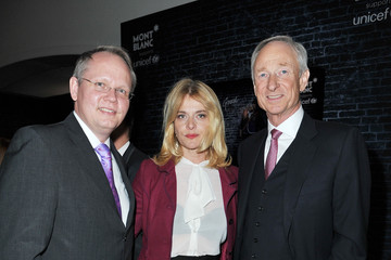 """Nastassja Kinski Jan-patrick Schmitz Montblanc And UNICEF Celebrate The Launch Of Their New """"Signature For Good 2013"""" Initiative At A Pre-Oscar Charity Brunch With Special Guest Hilary Swank"""